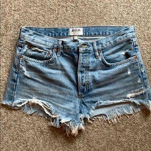 Agolde Jean Shorts
